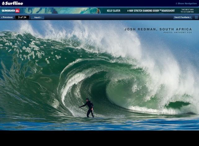 Josh surfline