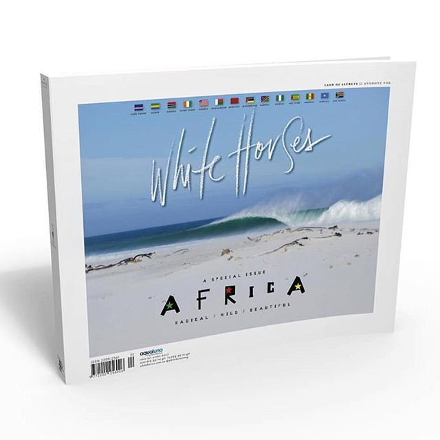 I am beyond honored to have my image on the cover of the most recent @whitehorsesmag. This magazine has always been one of a long list of motivations and with this image shot on one of my favourite beaches, makes this particularly special. #whitehorses#africa