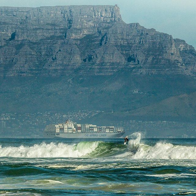 @john_john_florence featuring in the #mothercity. #surferphotos #atlantic#ocean